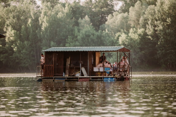 vacation, people, summer season, holiday, boathouse, lifestyle, shed, water, river, wood