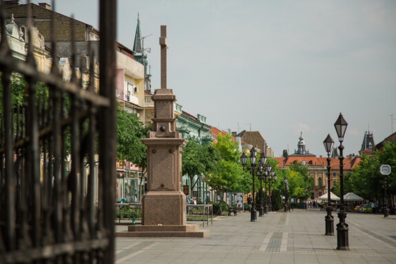 Sremski Karlovci town, downtown, building, street, architecture, city, old, urban, outdoors, square, town