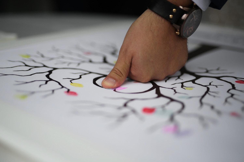man, hand, finger, skin, creativity, artistic, paper, planning, indoors, blur
