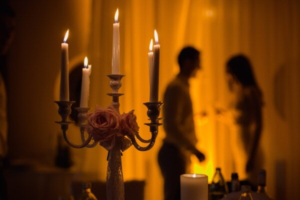 love date, candle, candlestick, candlelight, romantic, atmosphere, living room, holder, flame, fire