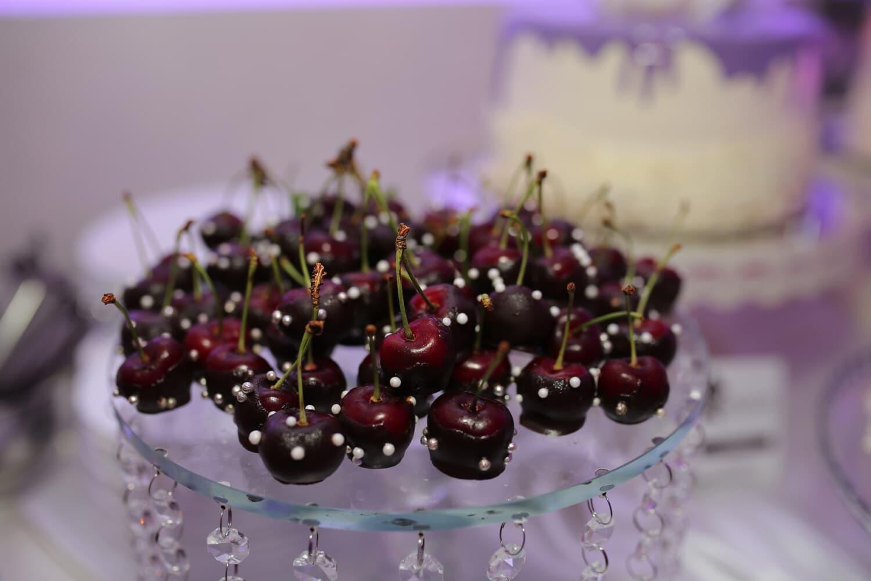 cerises, délicieux, décoration, fruits, frais, dessert, baie, cerise, doux, alimentaire
