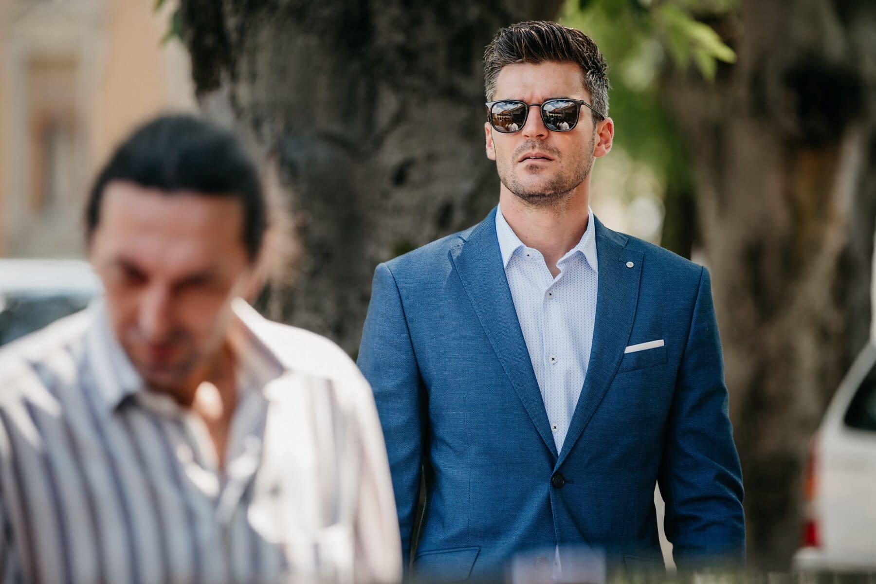 marche, Beau, homme d'affaire, costume, entreprise, Portrait, Entreprise, exécutif, homme, personne