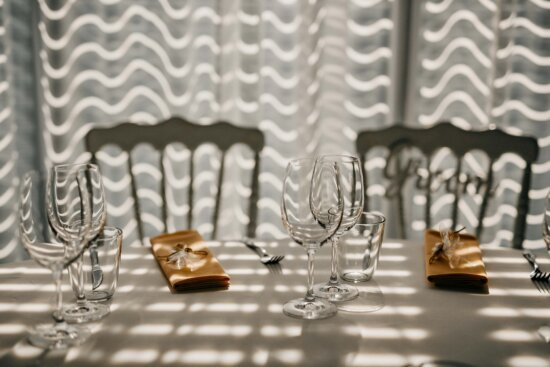 crystal, shadow, dining area, lunchroom, glass, white, table, chairs, chair, design