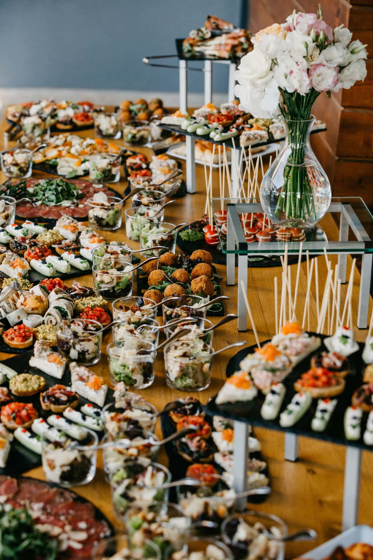 buffet, snack, table, banquet, food, outdoors, seafood, interior design, merchandise, meal