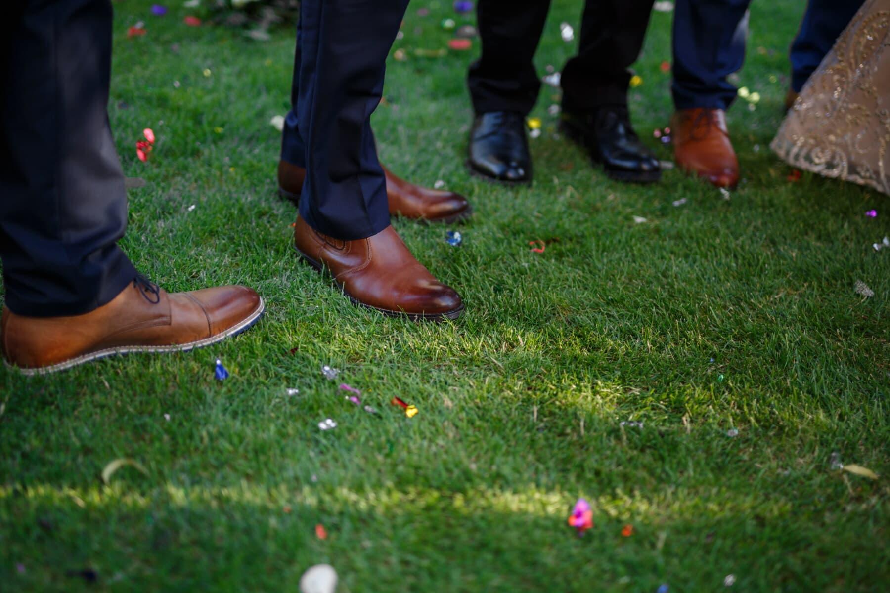 men, shoes, pants, legs, lawn, shoe, grass, foot, footwear, people