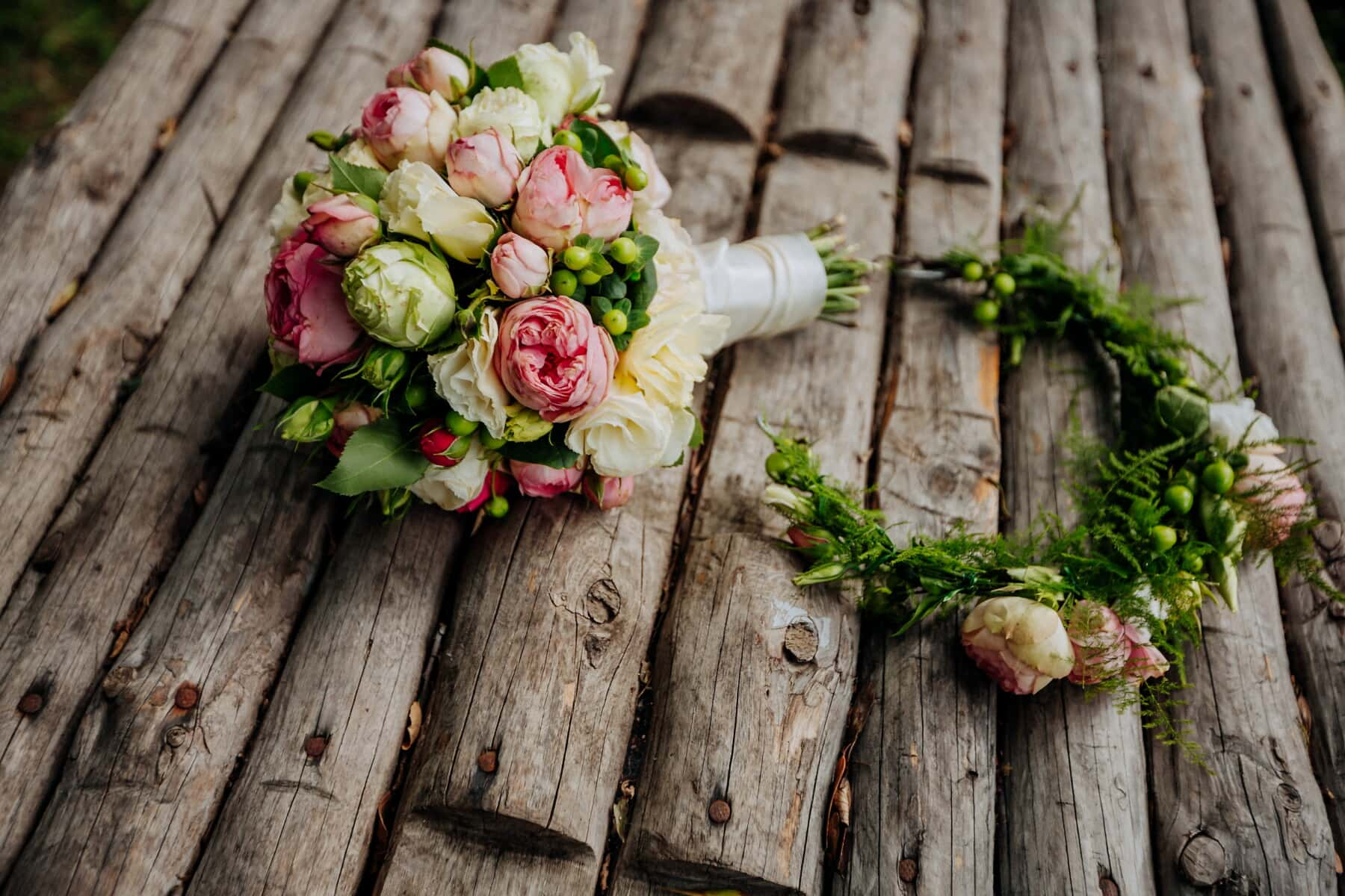 wood, wedding bouquet, arrangement, decoration, texture, wooden, bouquet, nature, flower, leaf