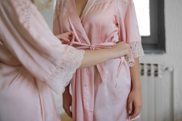 glamour, pinkish, silk, fashion, woman, clothing, pretty, girl, people, elegant