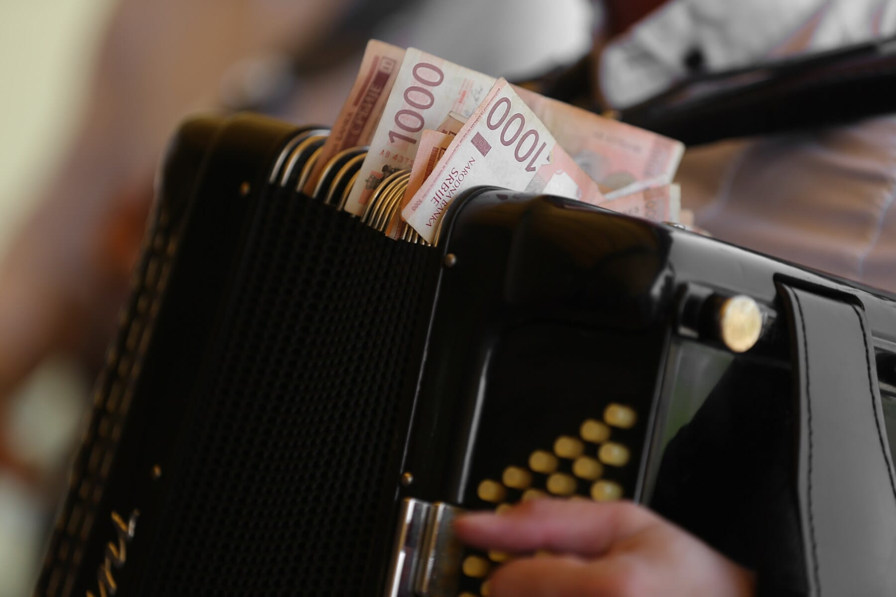 entertainer, music, money, musician, entertainment, accordion, people, business, indoors, classic