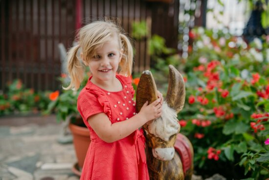 playground, playful, blonde, child, pretty girl, toy, cute, outdoors, girl, nature