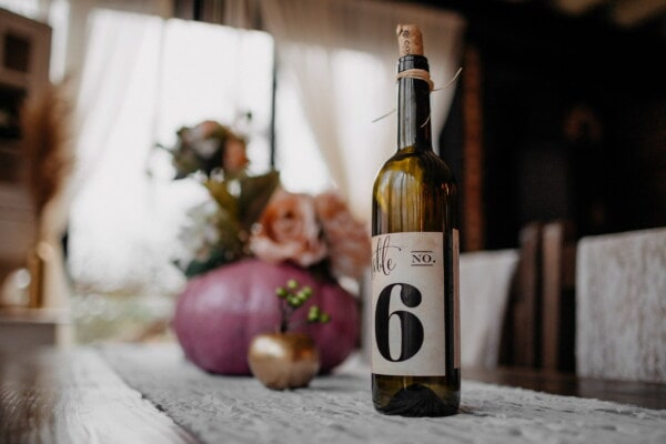 red wine, bottle, number, sixth, wine, winery, drink, alcohol, beverage, glass