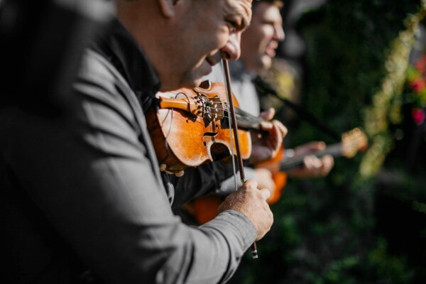 event, violin, orchestra, band, men, guitar, guitarist, skill, instrument, musical