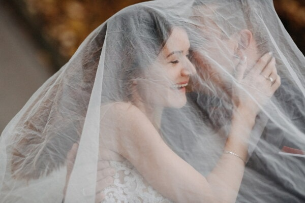 marriage, wedding, blond, groom, veil, woman, bride, fashion, girl, love