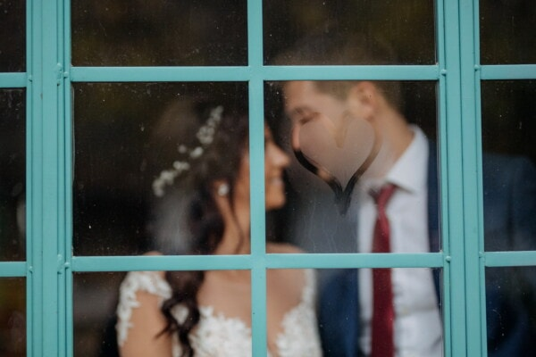 window, heart, moisture, love, sign, symbol, people, portrait, woman, girl