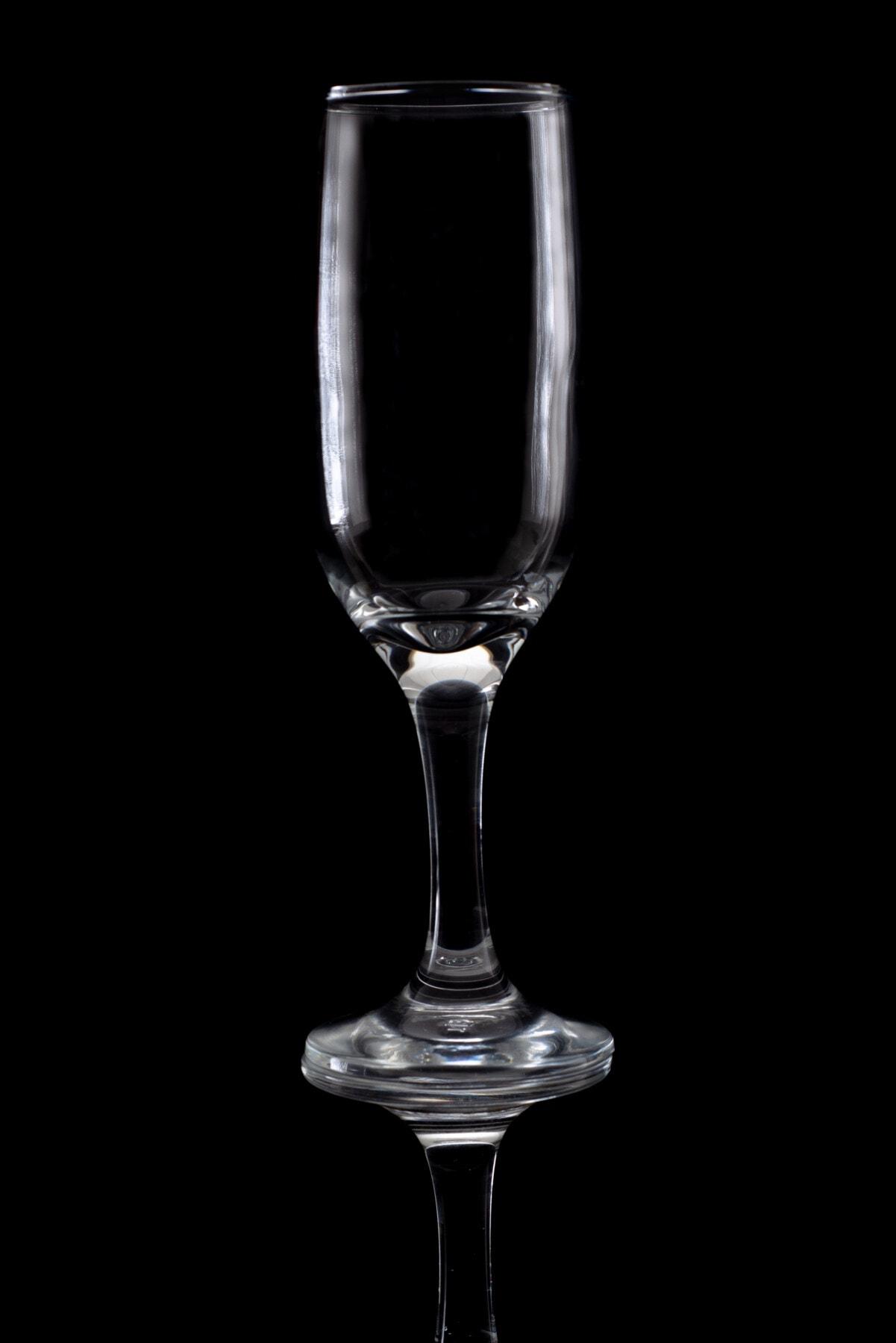 verre, crystal, studio photo, photo, sombre, transparent, réflexion, vide, fermer, élégant
