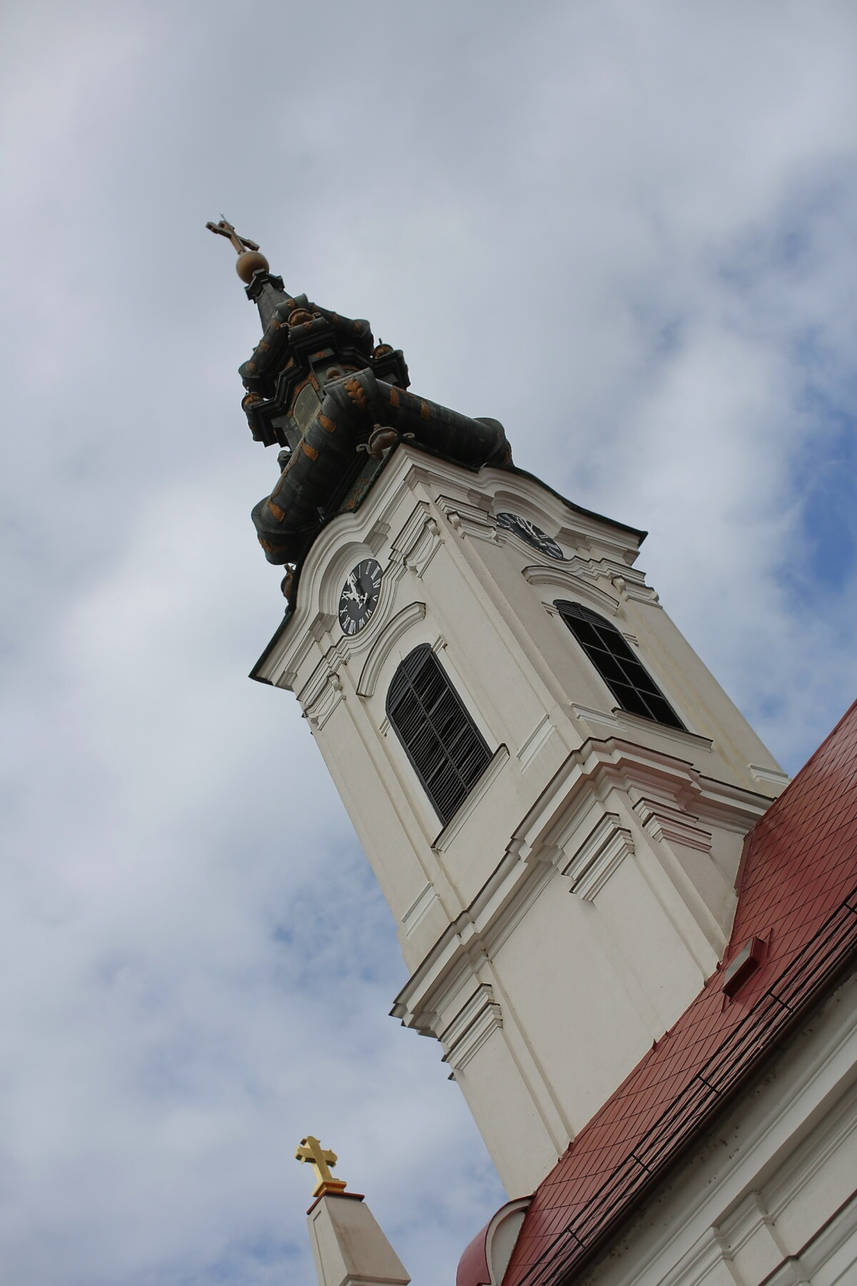 roof, orthodox, church tower, tower, building, church, architecture, old, city, cathedral