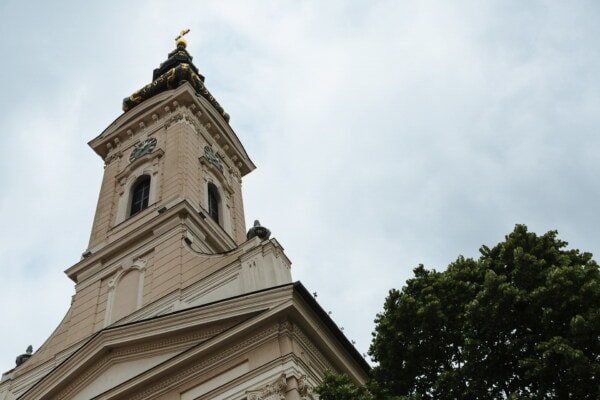 tower, church, cathedral, architecture, building, old, religion, city, art, outdoors