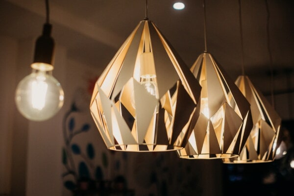 light brown, chandler, light bulb, interior design, art, light, luxury, retro, architecture, indoors