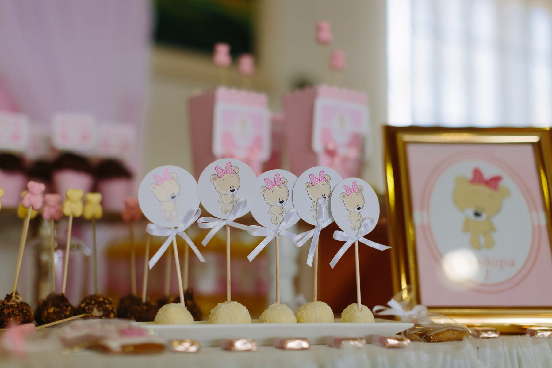 décoratifs, anniversaire, bonbons, la sucette, maison, bougie, à l'intérieur, célébration, parti, Design d'intérieur