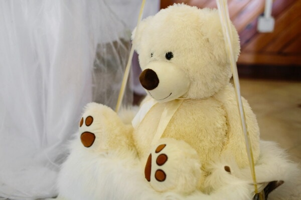 white, teddy bear toy, cute, bear, toy, fun, funny, fur, animal, traditional