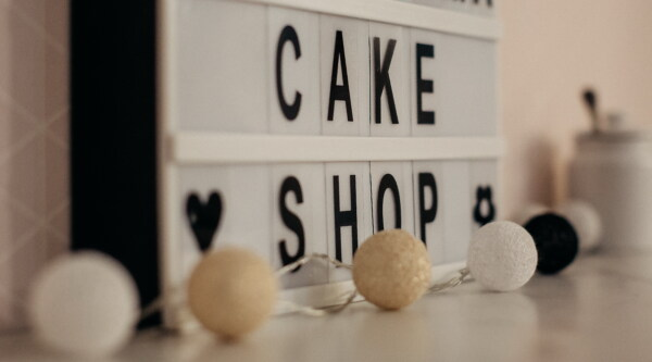 cake shop, alphabet, sign, text, elegant, decorative, decoration, design, indoors, business