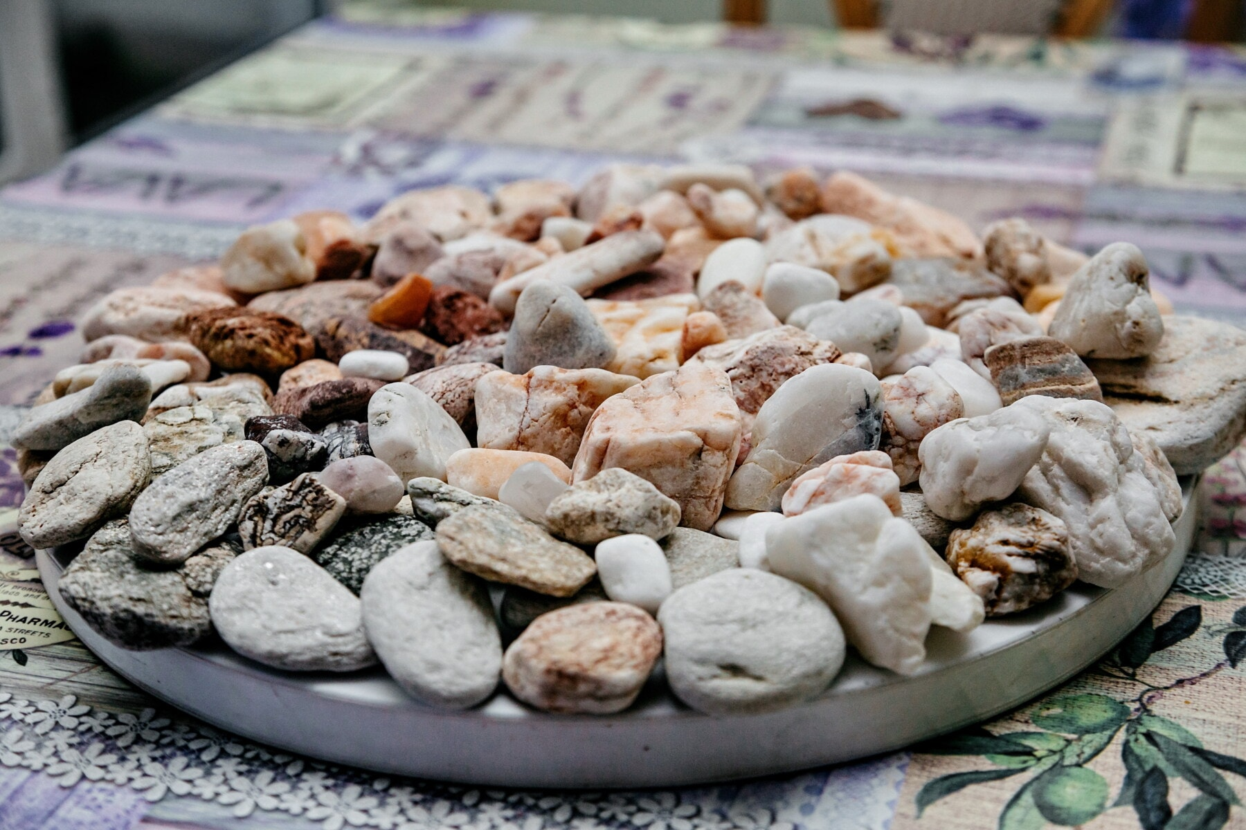 pebbles, small, interior decoration, zen, many, rock, stone, upclose, natural, pebble