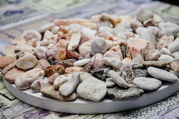 decoration, pebbles, still life, close-up, details, colorful, texture, zen, many, brown