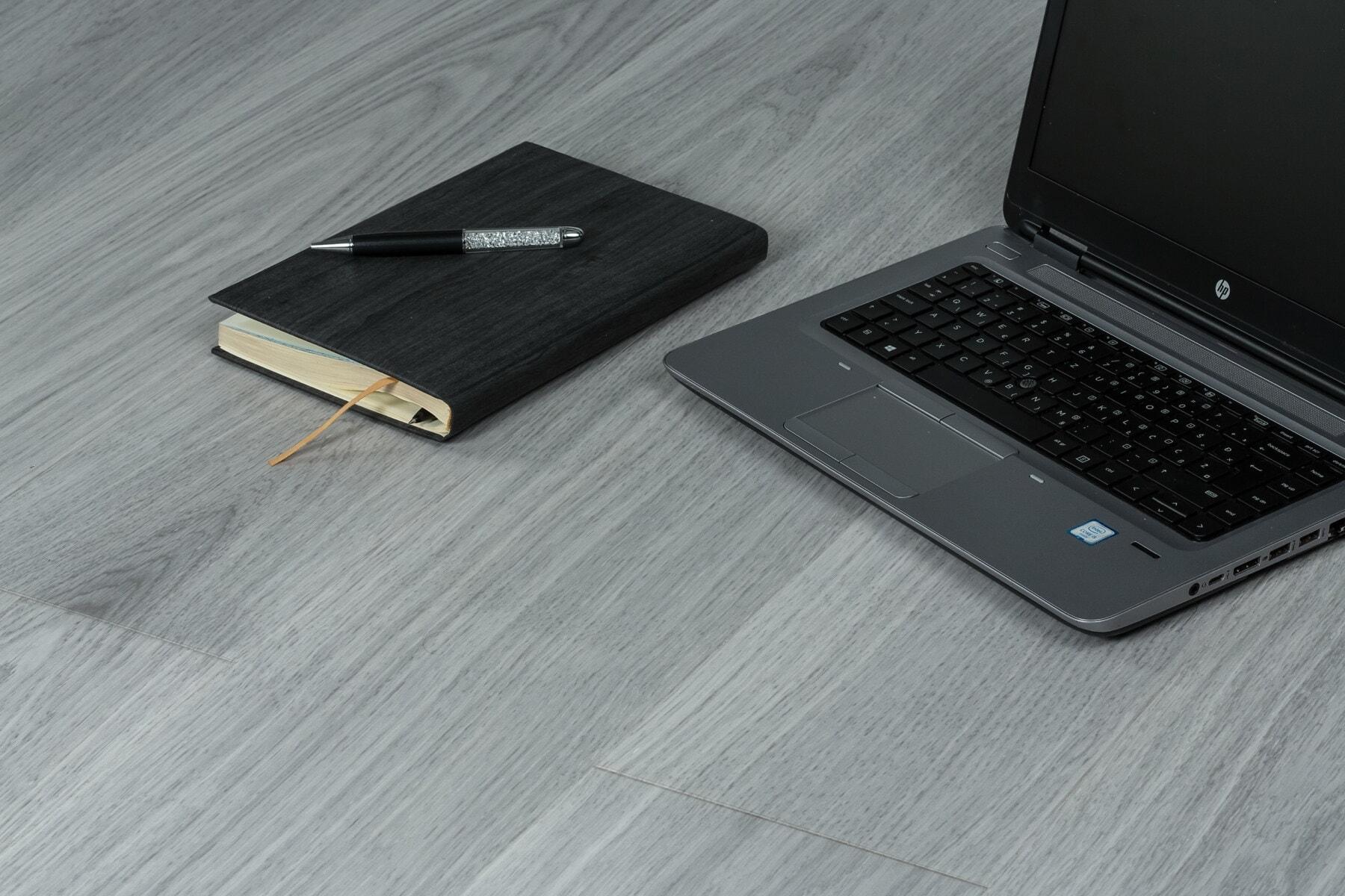 negru, calculator portabil, Minimalismul, birou, creion, gri, notebook-uri, calculator numeric, calculator portabil, calculator personal