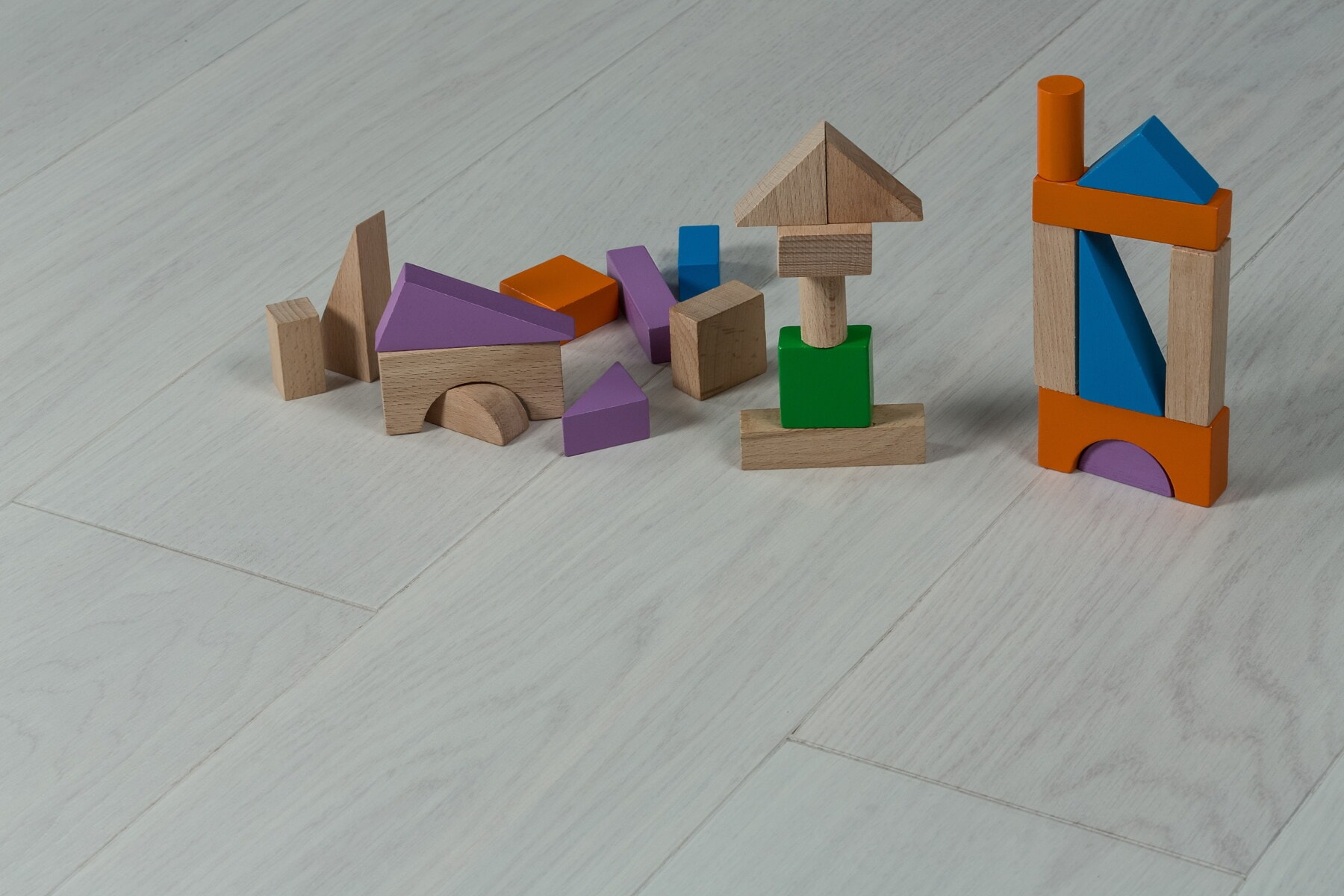forma, brinquedos, geométricas, cubo, de madeira, triângulo, colorido, em miniatura, peças, criatividade