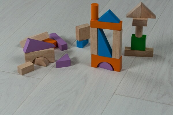wooden, shape, toys, cube, triangle, childhood, play, construction, creativity, box