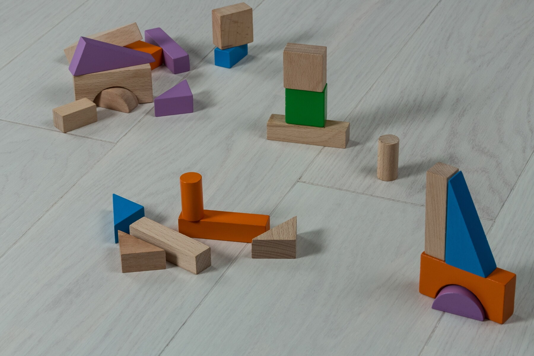 wooden, shape, toys, geometric, toy, floor, colorful, cube, wood, furniture