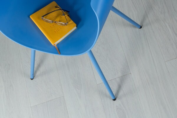 novel, yellow, book, reading, eyeglasses, chair, blue, wood, furniture, empty