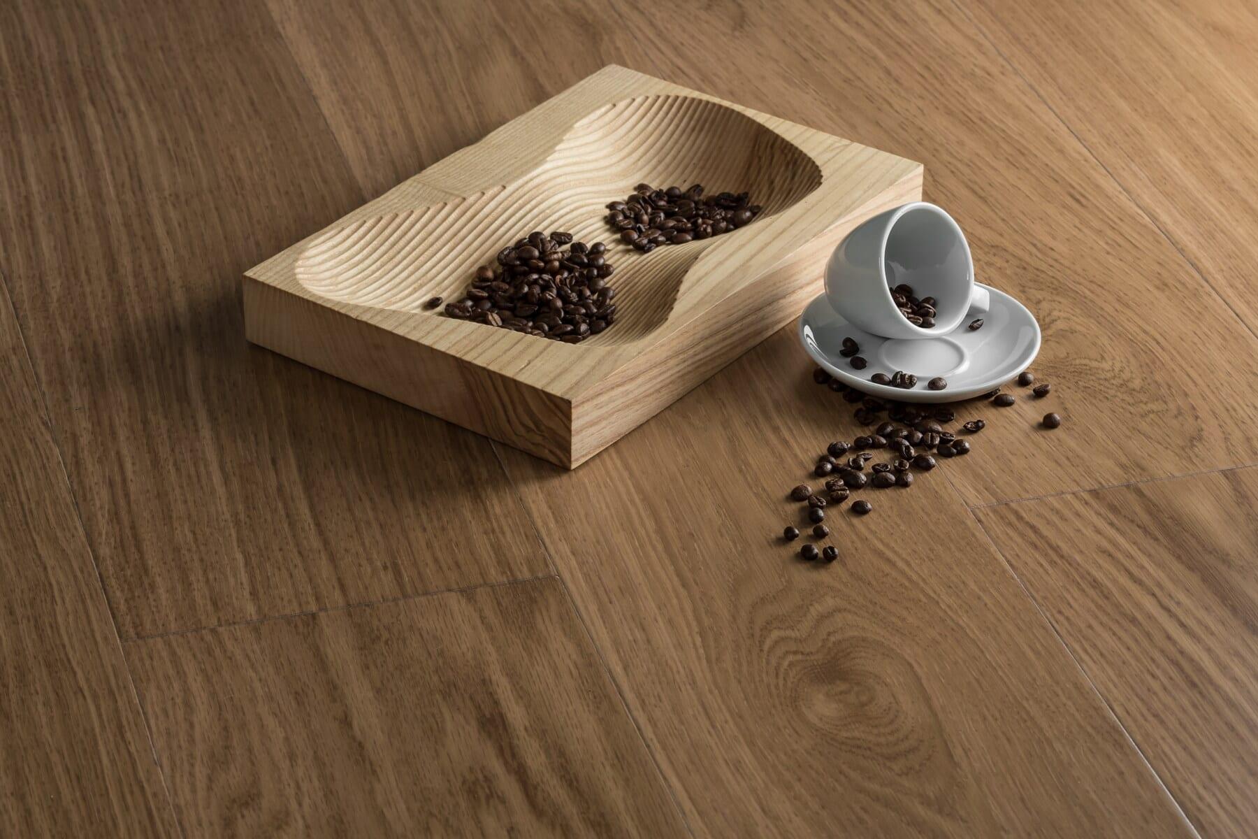 Samen, Kaffeetasse, Dunkel, Braten, Kaffee, Keramik, Hartholz, Holz, Schreibtisch, aus Holz