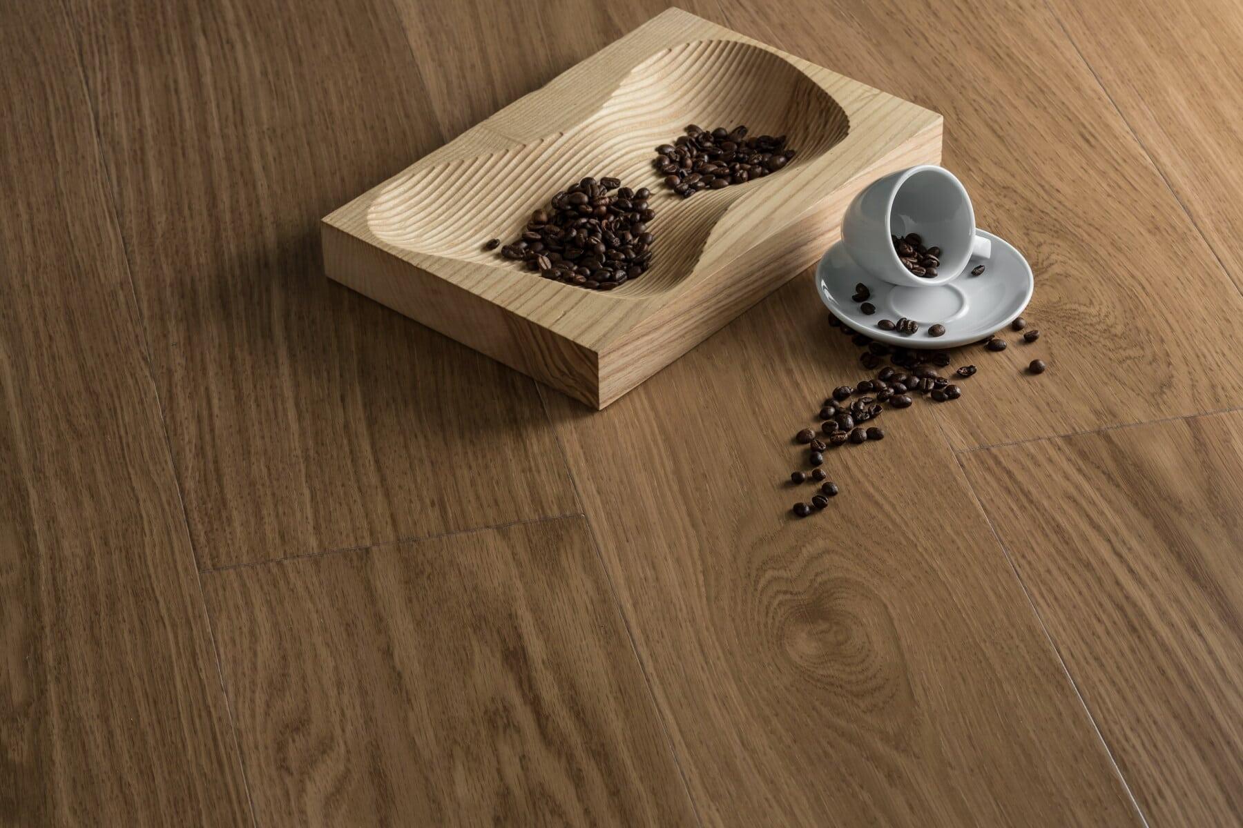 aromatični, kofein, sjeme, tamno, kava, pečena, šalicu za kavu, drvo, drveni, retro