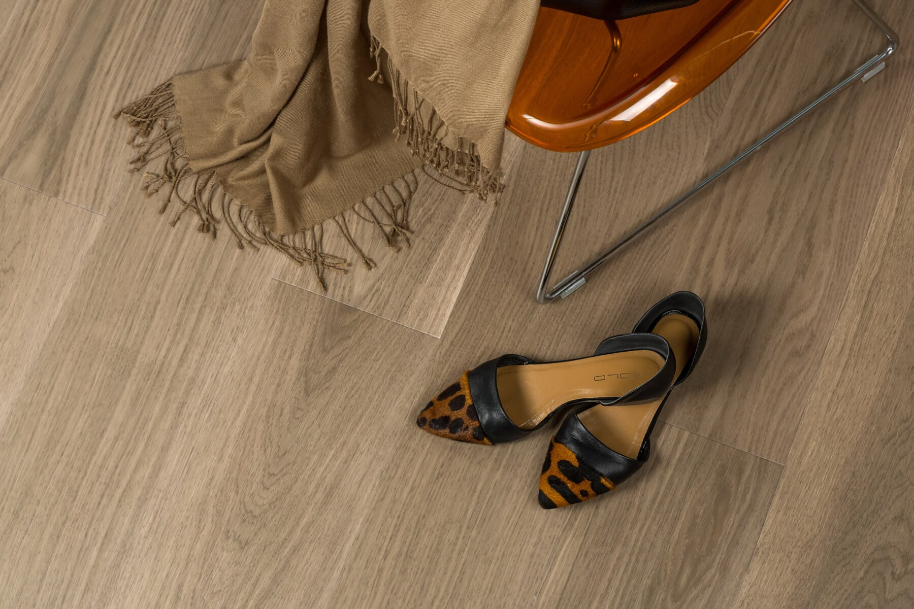 trendy, fancy, Sandal, hæle, sko, sko, pige, gulvet, der dækker, fodtøj