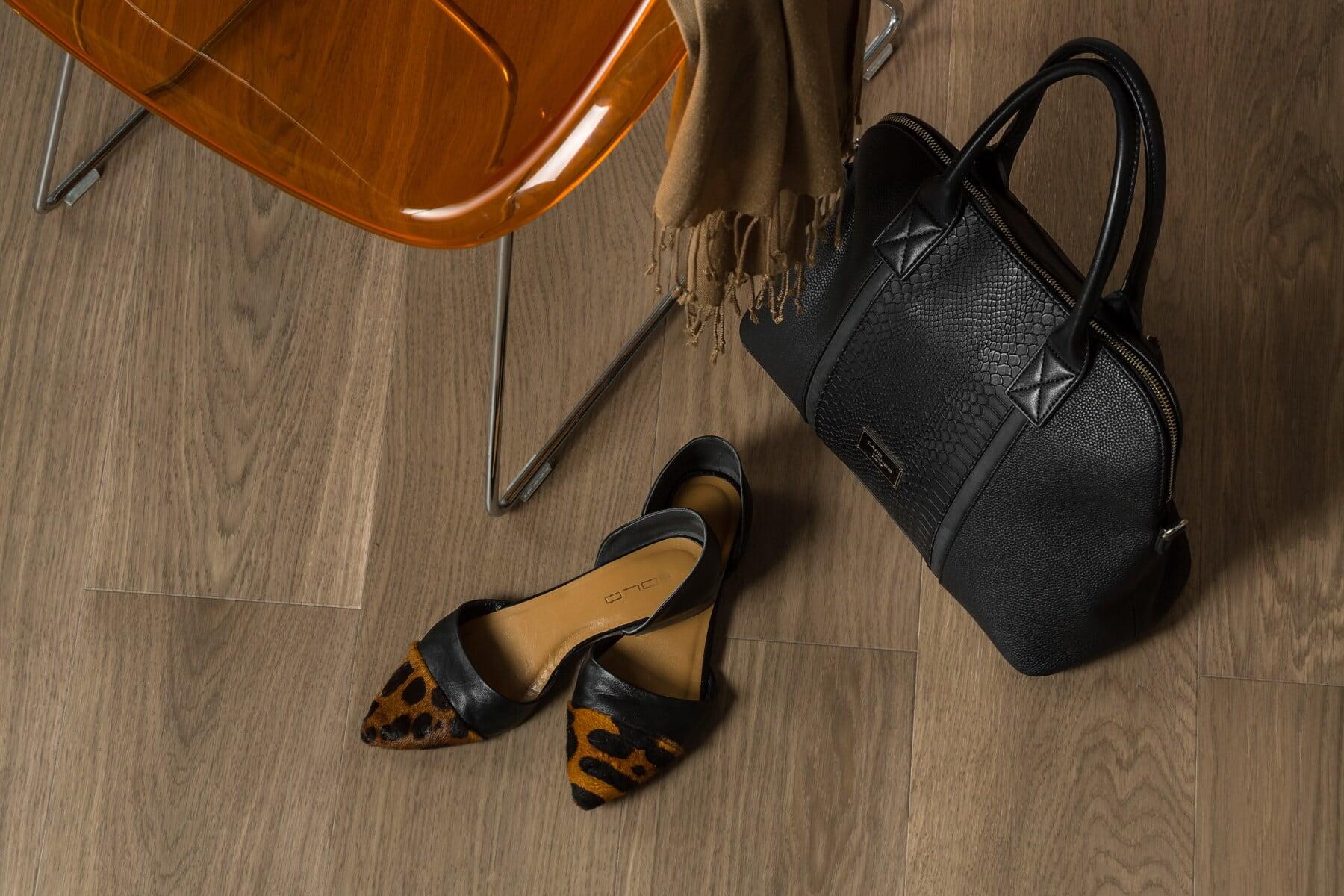 tyyli, käsilaukku, kengät, naisellinen, sandaalit, suunnittelu, kerros, tuoli, jalkineet, kattaa