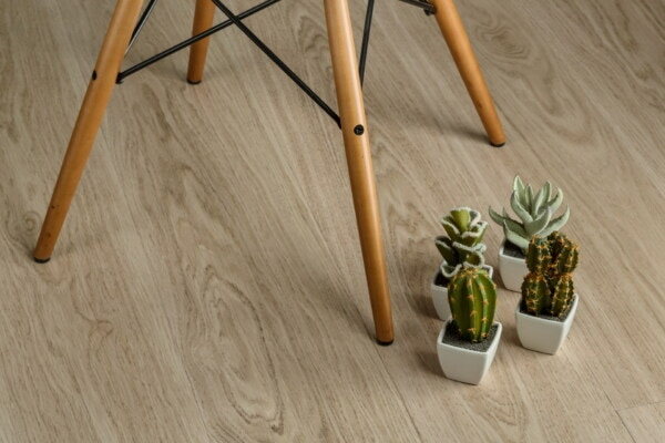 miniature, chair, cactus, floor, flowerpot, parquet, hardwood, stool, comfortable, wooden