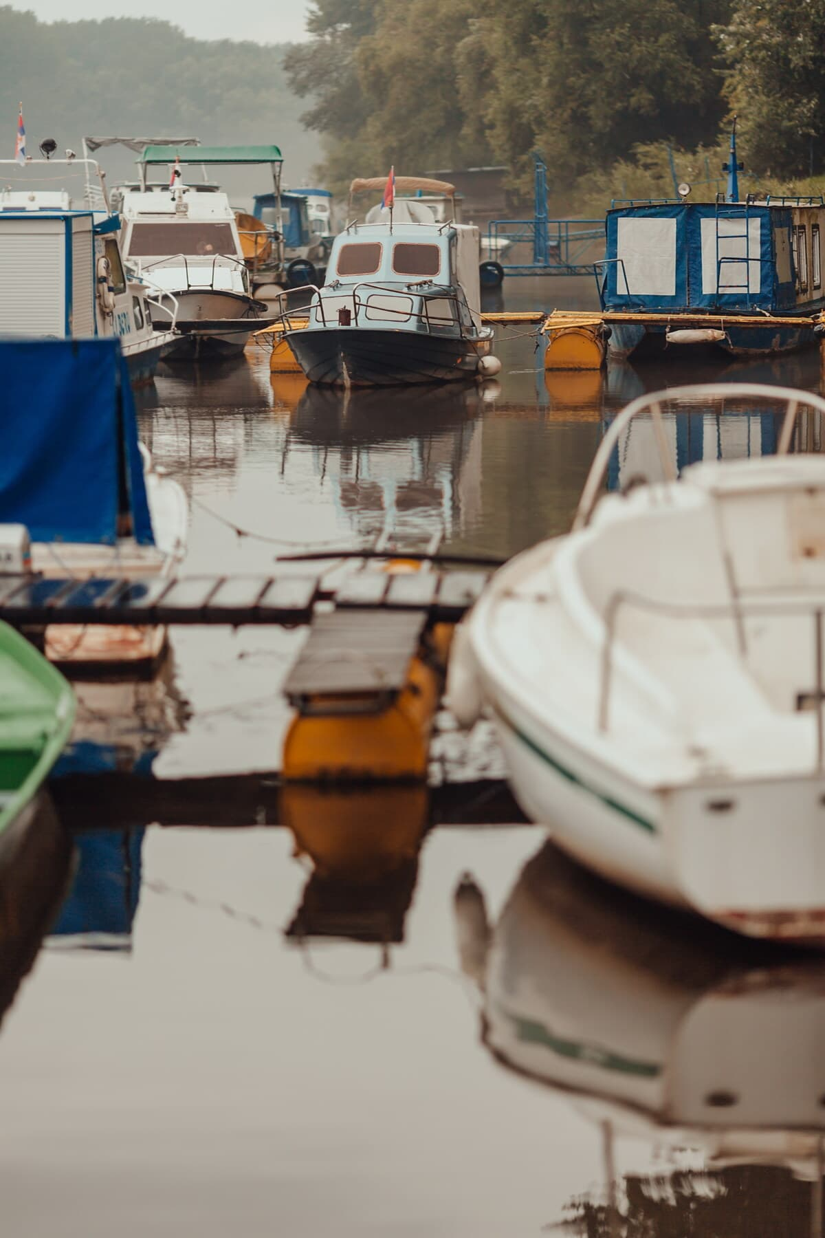 dock, canal, boats, marina, yacht club, harbour, boat, water, harbor, watercraft
