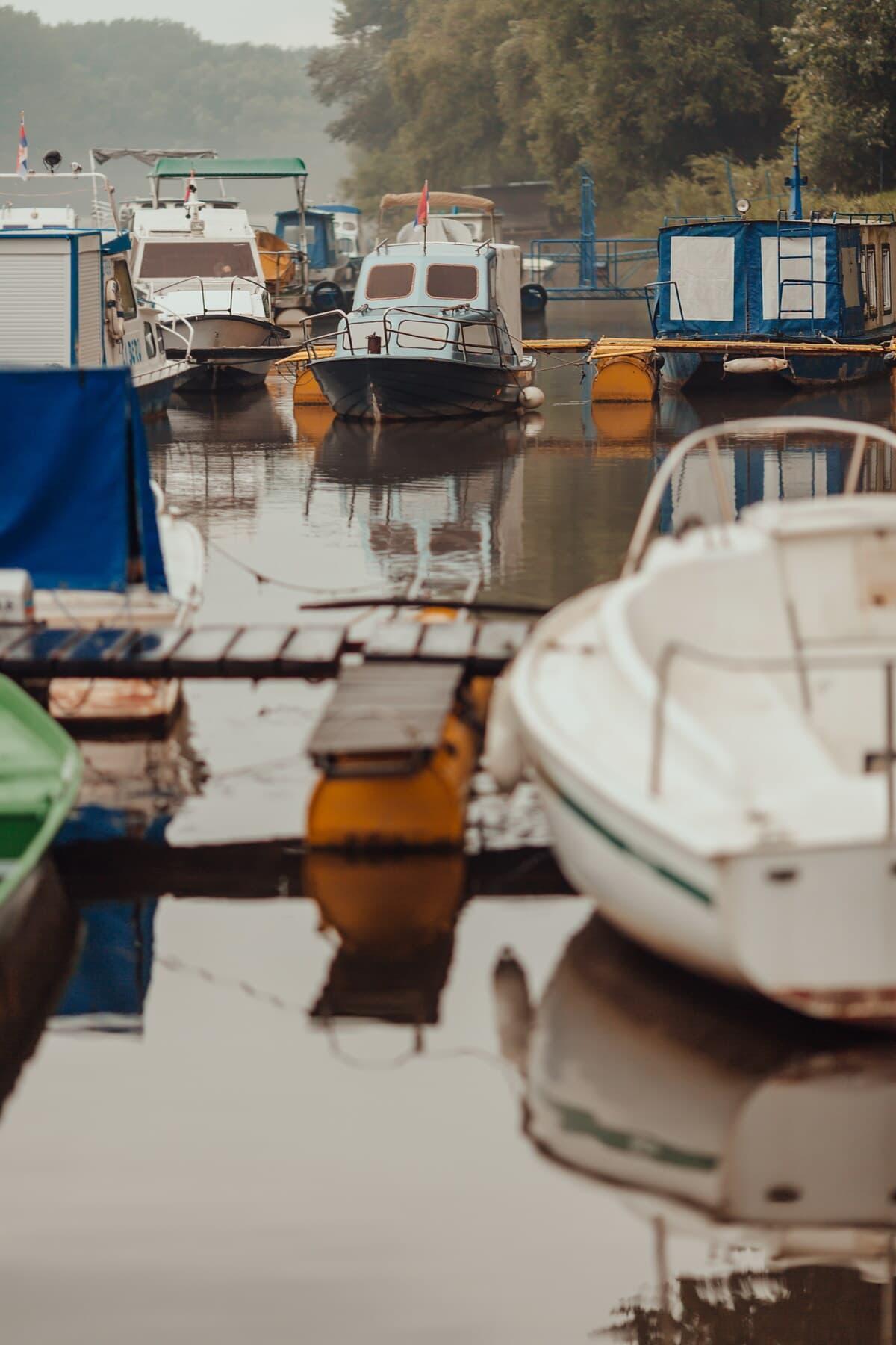 Dock, Kanal, Boote, Marina, Yacht club, Hafen, Boot, Wasser, Hafen, Wasserfahrzeuge