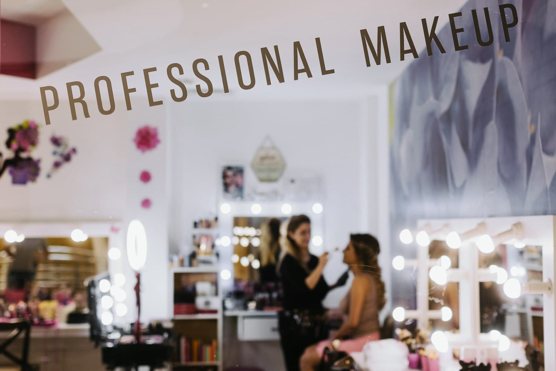 professional, makeup, business, salon, service, shopkeeper, customer, shop, cosmetics, shopping