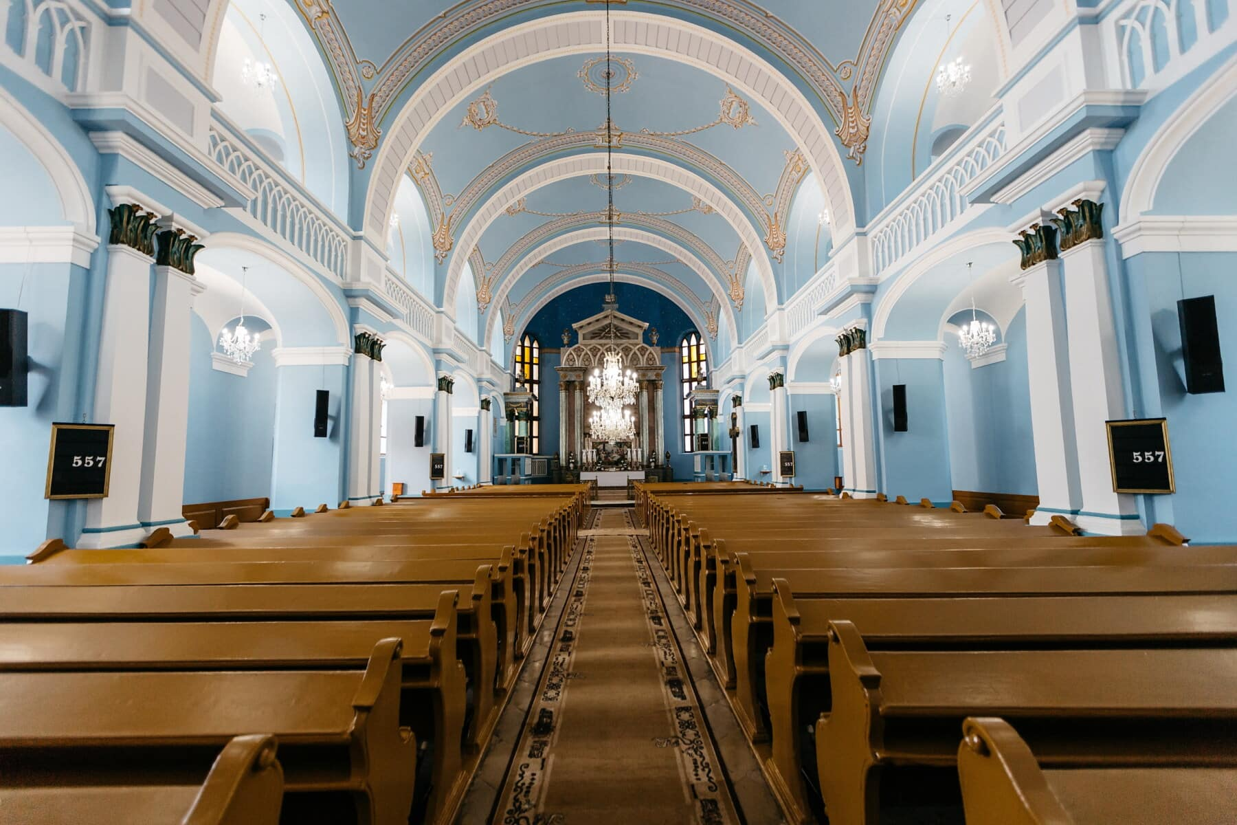 Kirche, leere, Innendekoration, Innenraum, innen, Interieur-design, drinnen, Architektur, Gebäude, Halle