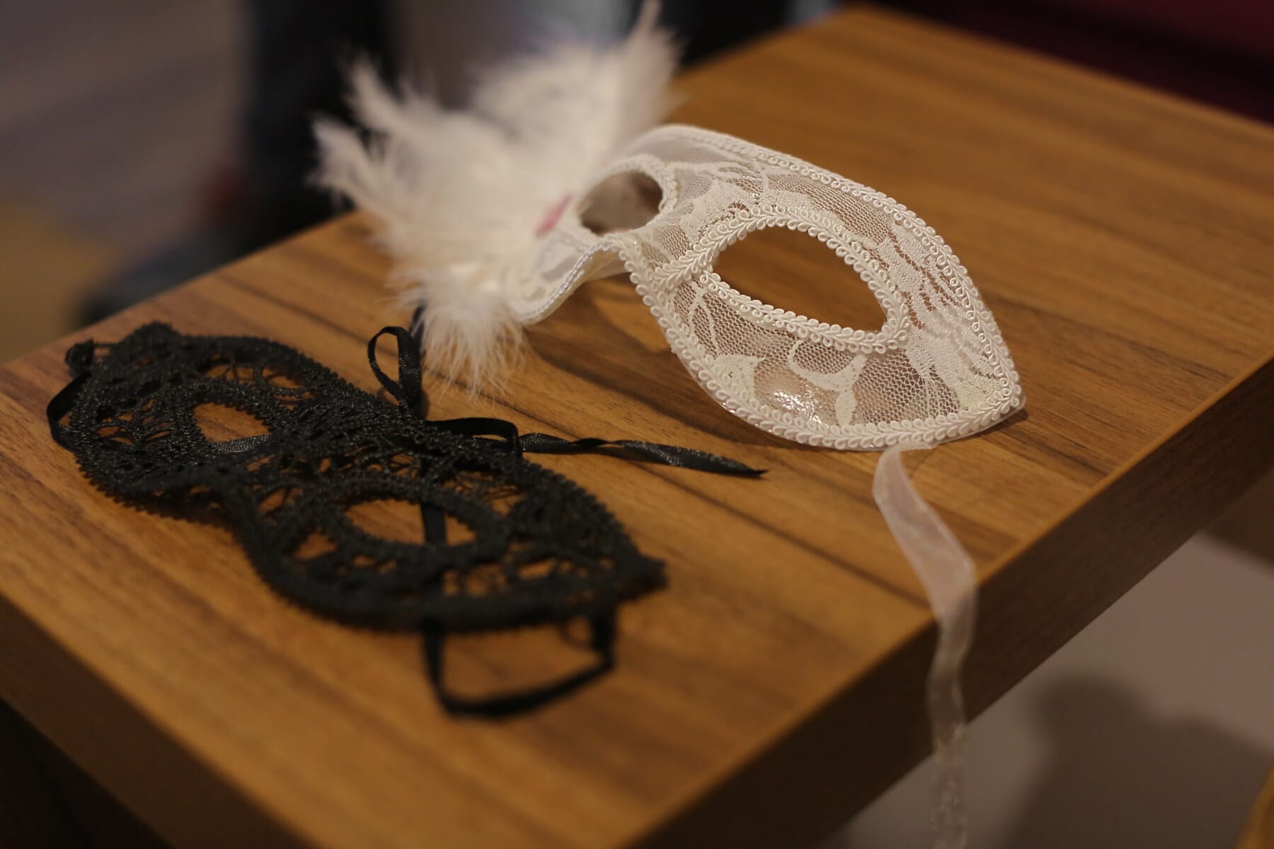 face mask, mask, baroque, handmade, vintage, carnival, black and white, styling, fashion, festival