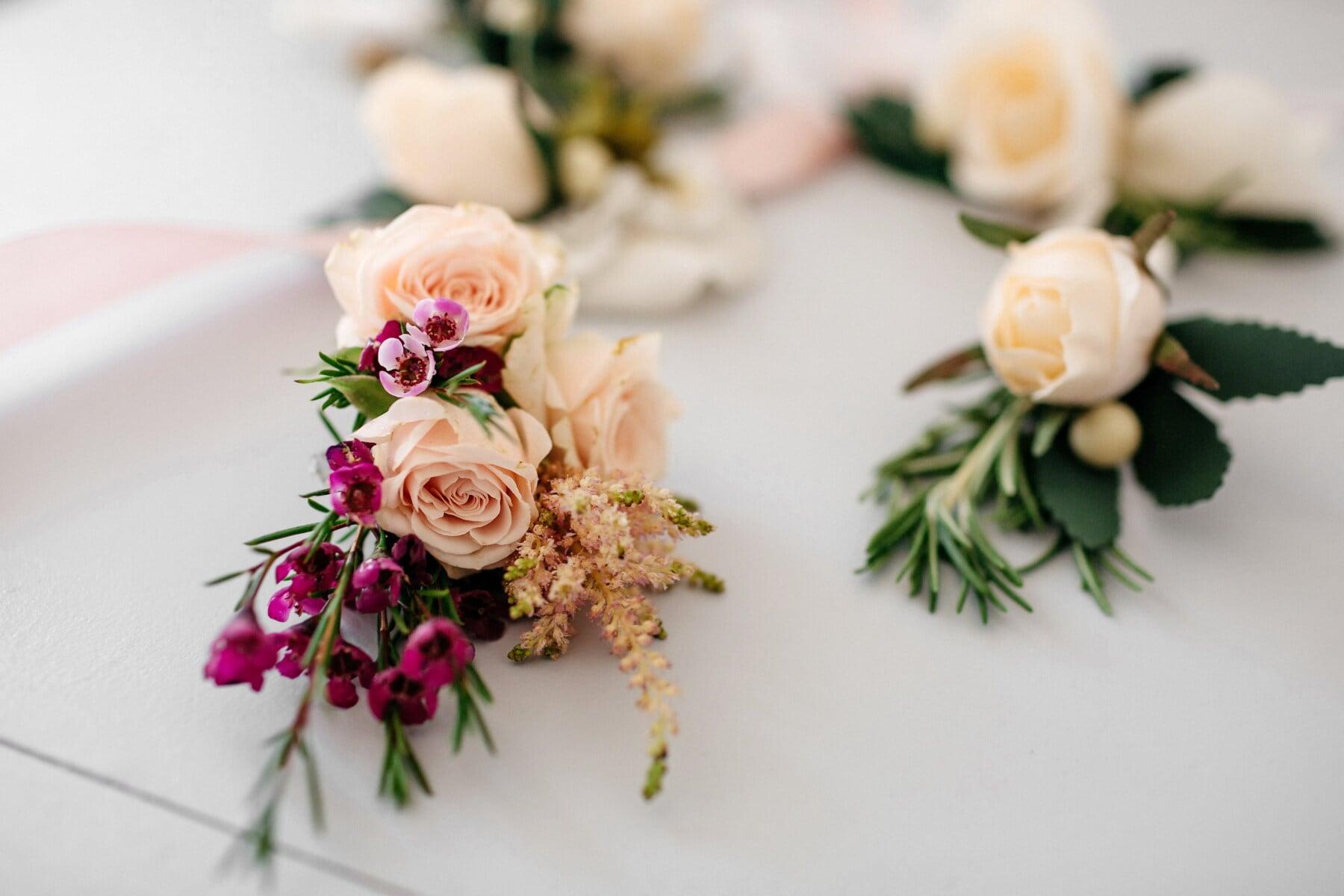 décoratifs, vintage, bouquet, amour, Rose, nature morte, fleur, décoration, romance, feuille