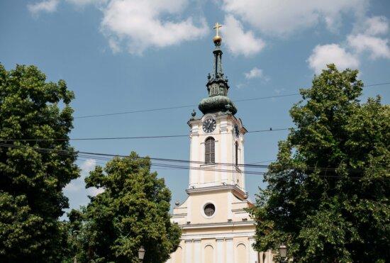 orthodoxe, Kirchturm, Kreuz, goldener Glanz, Architektur, Turm, Gebäude, Kloster, Verkleidung, Kirche