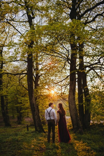 romantic, love date, vintage, girlfriend, boyfriend, villager, old fashioned, farmer, forest, forest trail