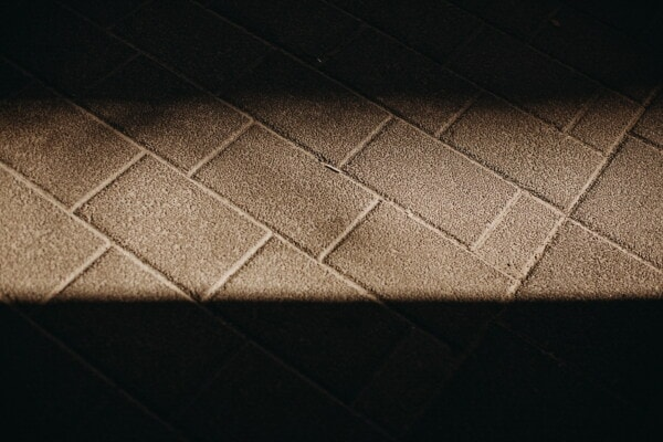 darkness, concrete, bricks, pavement, shadow, block, texture, rectangle, square, material
