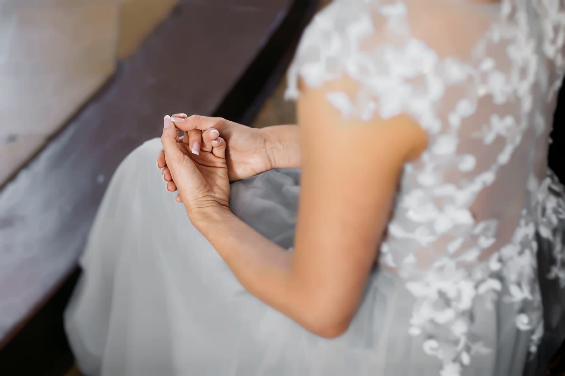 sadness, grief, emotion, bride, alone, wedding, love, hands, depression, woman