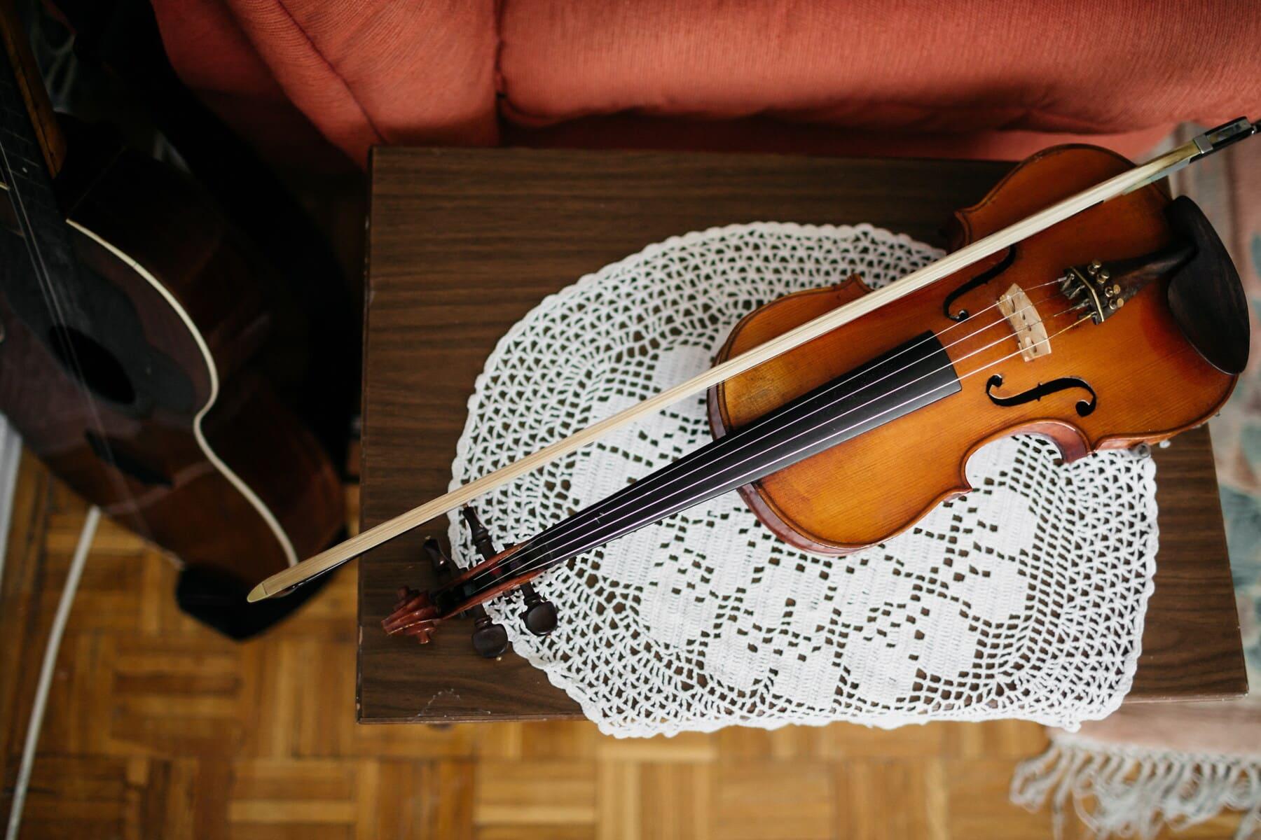 violin, vintage, old, music, wood, classic, instrument, musician, skill, art