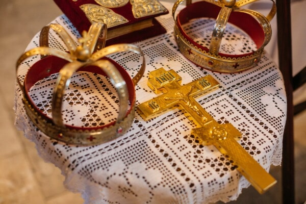 cross, gold, christianity, expensive, Christ, resurrection, crown, coronation, baptism, christmas
