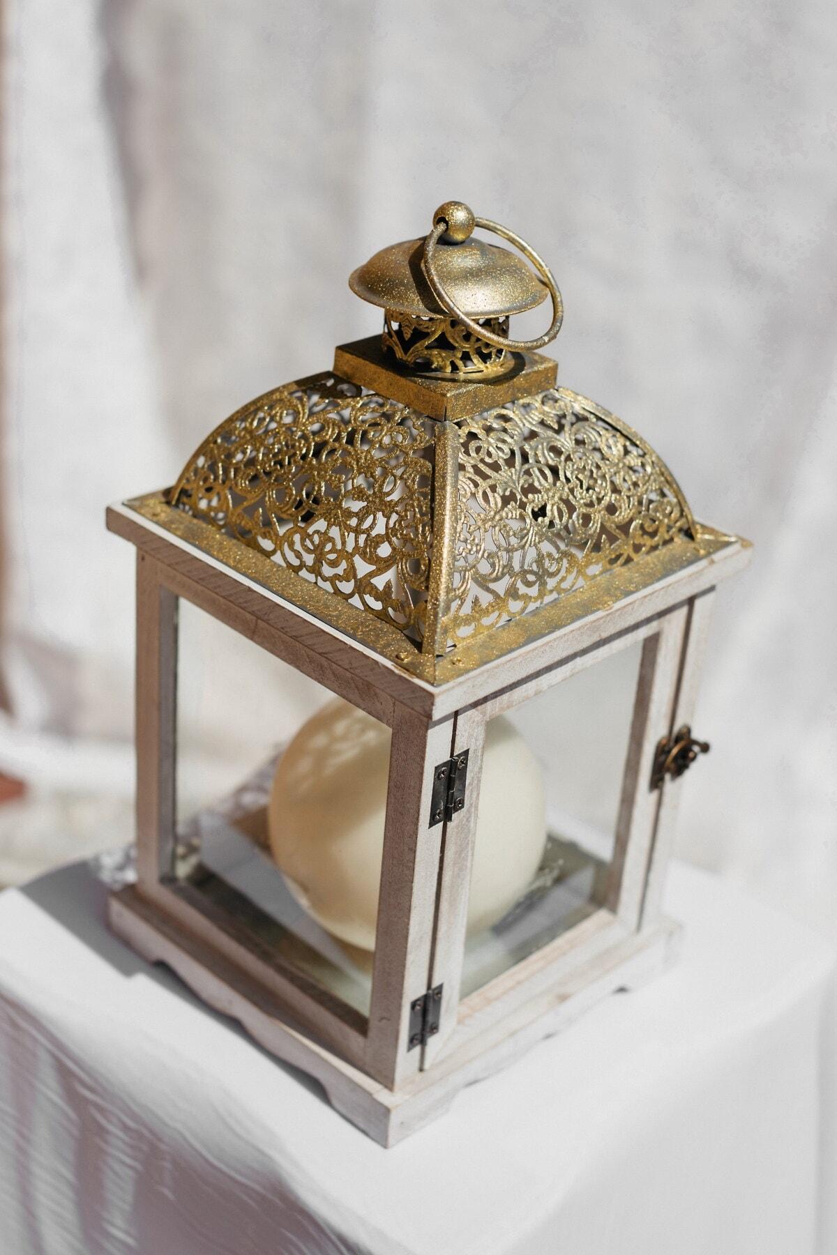 vintage, lantern, golden shine, antiquity, elegant, antique, interior design, traditional, wood, luxury