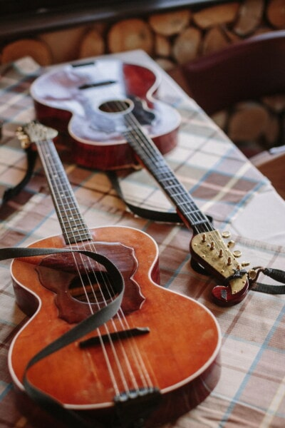 old style, acoustic, guitar, string, wood, music, sound, musical, instrument, musician